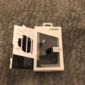 Used Evutec iPhone X case (with mount)